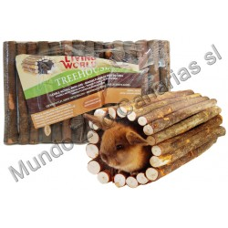 LOGS MED FLEXIBLE 17X27.5CMS MADERA